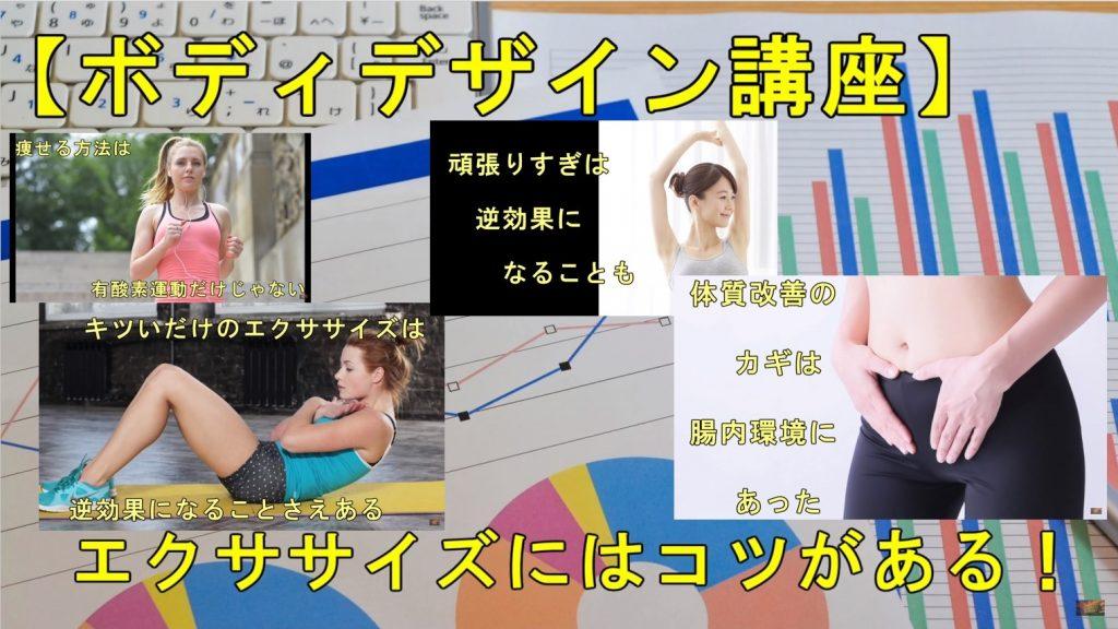 【ボディデザイン講座】自宅でパーソナルトレーニング!