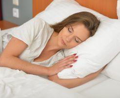 睡眠時の姿勢と腰痛
