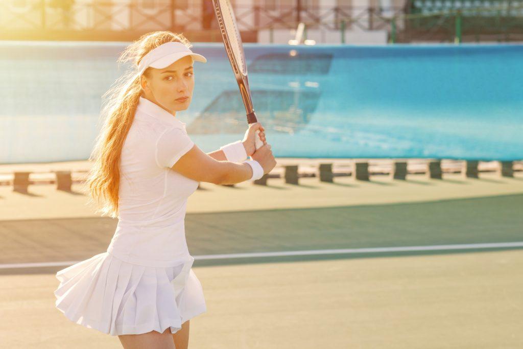 ②テニス部の練習メニュー「トレーニング要素の分析と実践」